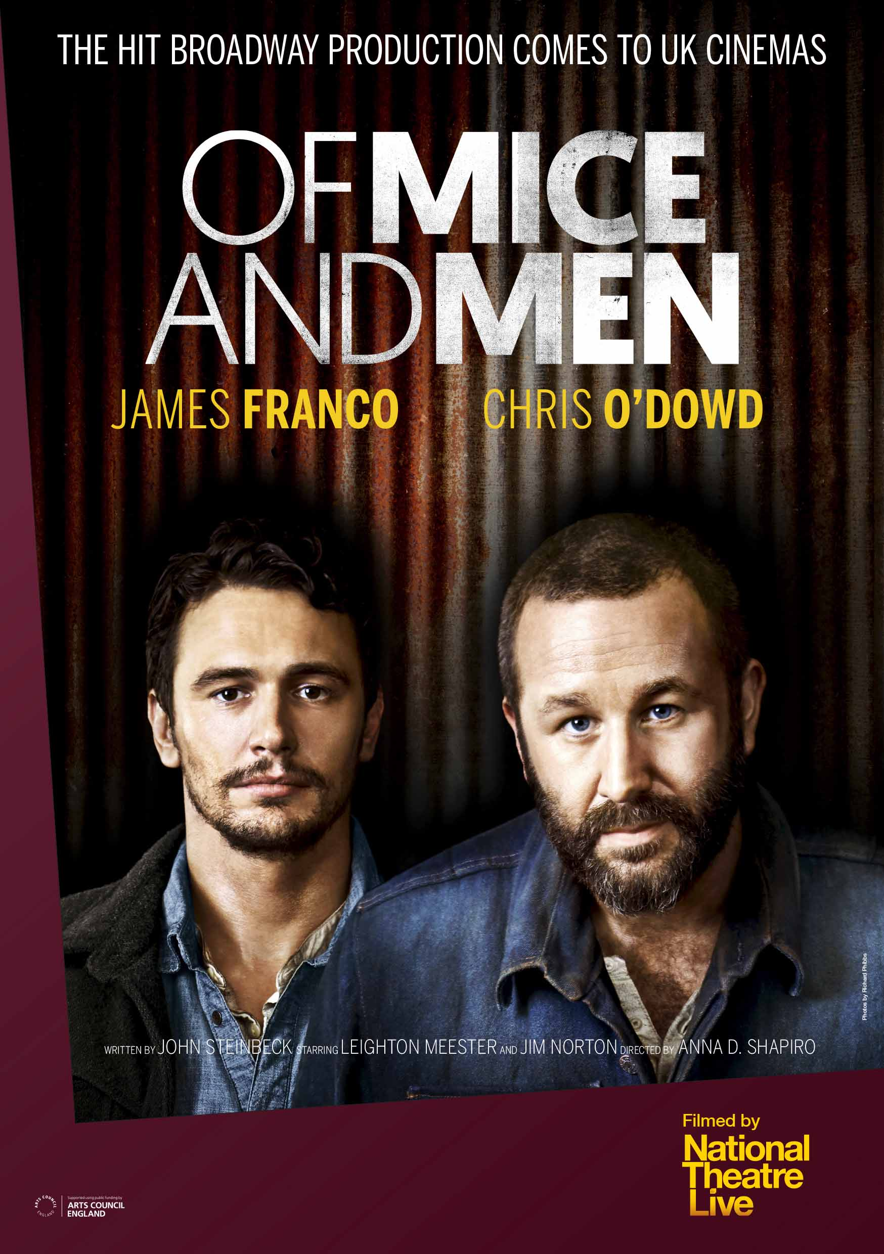 of mice and men book movie Strength in the movie it shows a guy named mike comes over to slim and ask to switch jobs, because he cannot keep up with lennie beginning after.