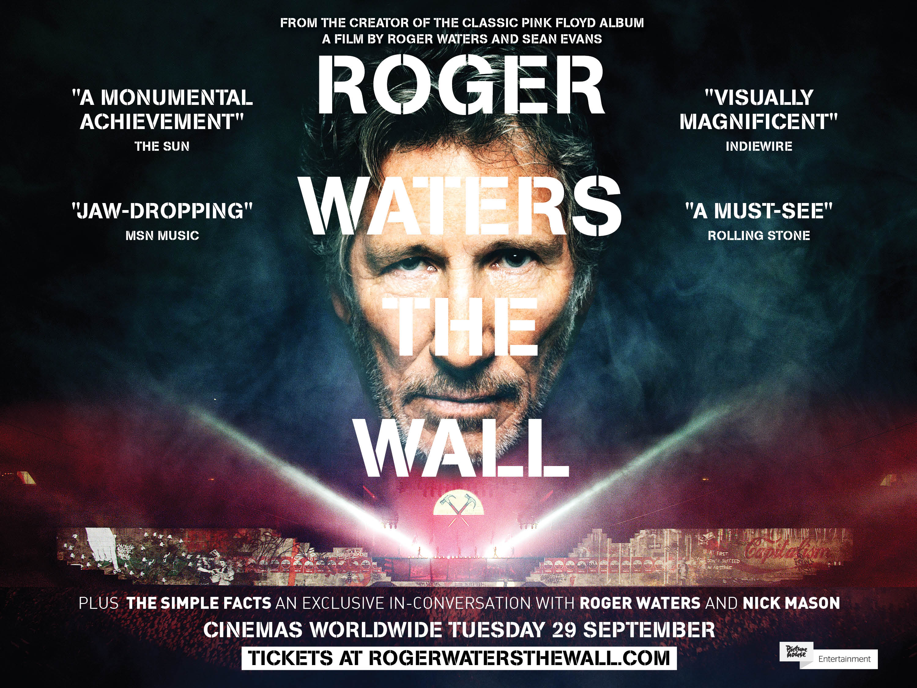 Roger Waters The Wall Norden Farm Centre For The Arts
