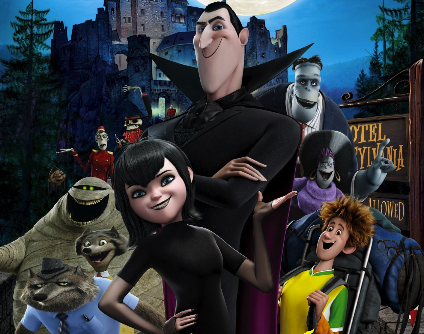 It's just an image of Agile Hotel Transylvania Pictures
