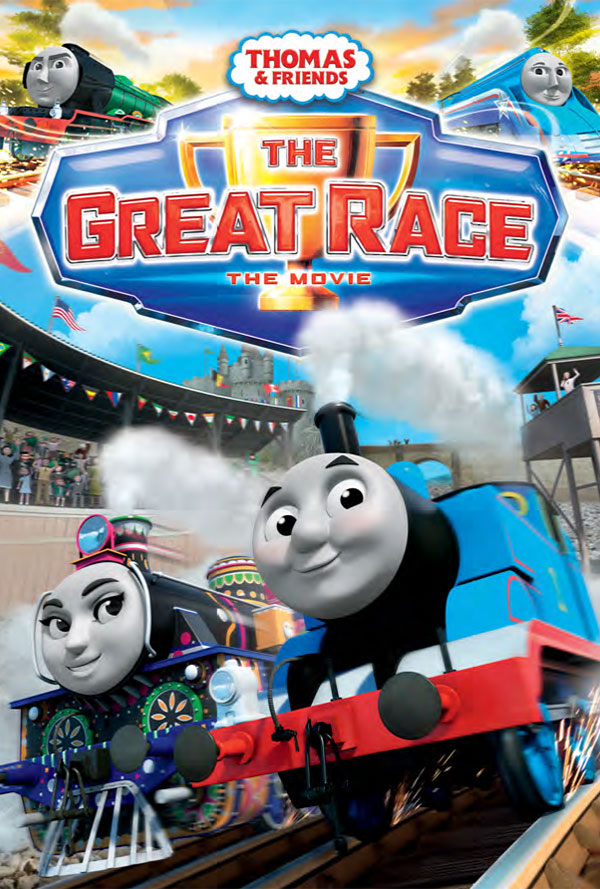 thomas and friends the great race u norden farm