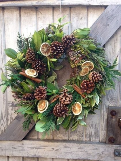 Floristry Night School Christmas Wreath Making Norden Farm Centre For The Arts Theatre In Maidenhead,Woman Clothing Store Logo Design